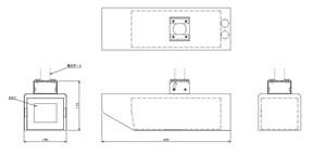 ステンレス型カメラケース (LONG) 仕様 図面2