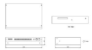 デジタルBGMマシーン 仕様 図面1