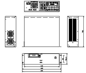 デジタルビデオレコーダー 仕様 図面1