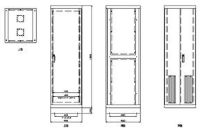 ラック架 A-1800 仕様 図面1