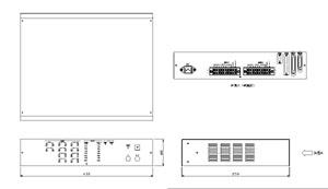 マルチスイッチャーアンプ 仕様 図面1