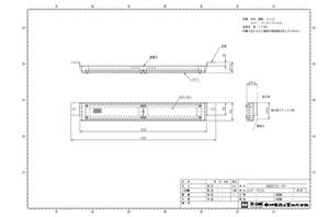 指向性スピーカー MUSE SNF-R2N 図面1