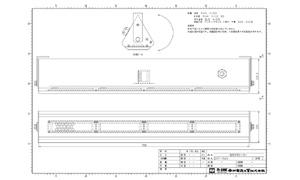 指向性スピーカー MUSE SNF-R4N 図面1